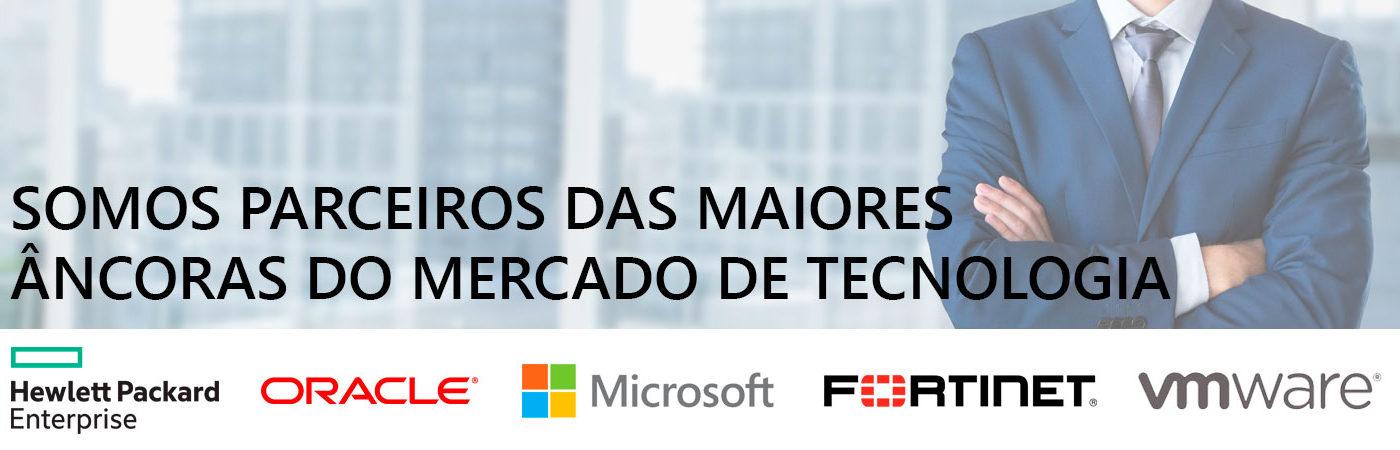 Somos parceiros das maiores âncoras do mercado de tecnologia!